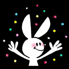 achaboxの白ウサギ