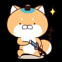 [LINEスタンプ] わんこ侍