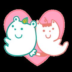 [LINEスタンプ] Anna&Bear (1)