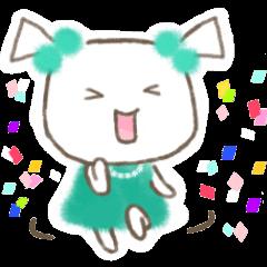 [LINEスタンプ] ツィンテ パーティーシーズン ver.の画像(メイン)
