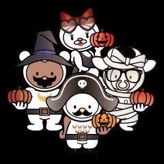 [LINEスタンプ] Moo! Moo! & Friends! ゆるゆる天国 ④ (1)