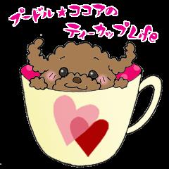 プードル☆ココアのティーカップLife