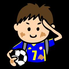 サッカーボーイズ 青ver.