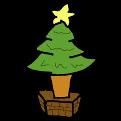 クリスマスイブ専用スタンプ