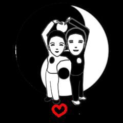 yin yang in love