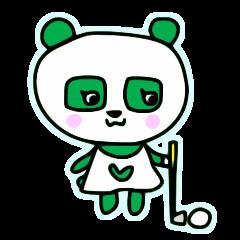 緑のパンダ、ハナハナ