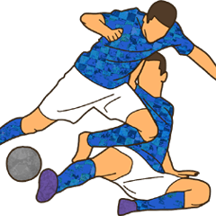 サッカー アソシエーション スタンプ