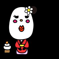 パンダのミッシェル (年末年始バージョン)