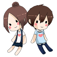 [LINEスタンプ] Couple's sticker (1)