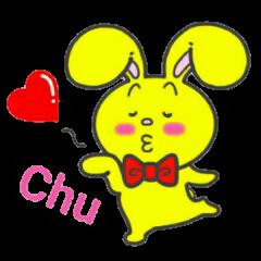 幸せを呼ぶ黄色いうさぎ ジャンピィ~