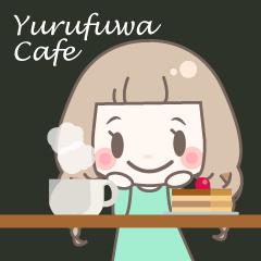 ゆるふわガーリースタンプ【カフェ】