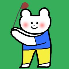 リコ画伯のゴルフ会話2