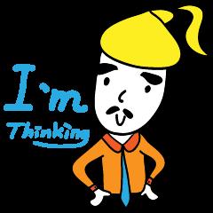 Thinhking Girl