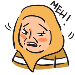 Grumpy Hijabi