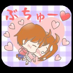 ゆるかわカップル 愛の三択 彼氏編
