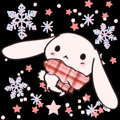 冬のさくらいろのうさぎ Vol.3