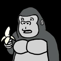 コスプレゴリラとそのバナナ