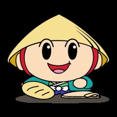 草津市公認マスコットキャラクター たび丸