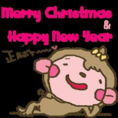 neneにゃんMerry Christmas&Happy New Year