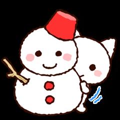 季節のにゃんこ(冬・年末年始編)