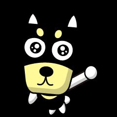 台形の犬2