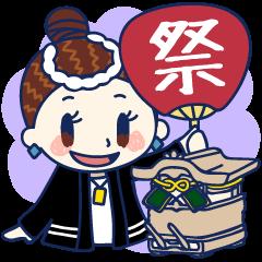 【泉州弁】だんじりガール