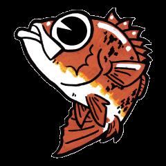 ライトソルト(根魚・アジ)スタンプ