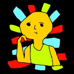 なんか黄色いムキムキくん