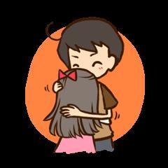 [LINEスタンプ] Hey! Sweety (1)