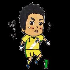 FC岐阜公式スタンプ2015