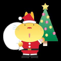 クリスマスのうさぎくん