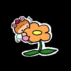 花の妖精のぽぽちゃん