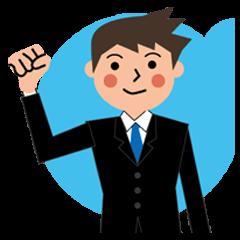 [LINEスタンプ] サラリーマンの毎日使えるビジネススタンプ (1)