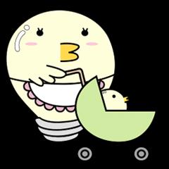 『 ヒヨコ電球 ~主婦編~ 』