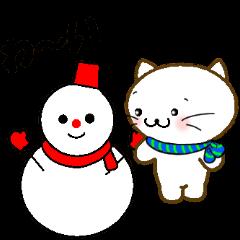 冬のねこねーこちゃん