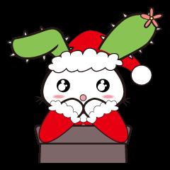 ラピちゃんの心をこめてクリスマスのご挨拶