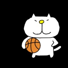 りるねこバスケットボール
