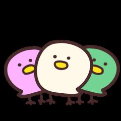 3色ひよこ