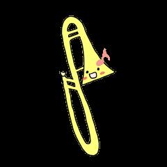 オーケストラのトロンボーンちゃん