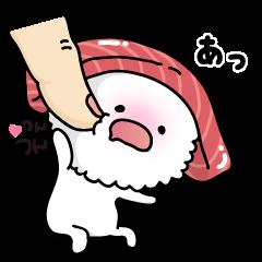 2. お寿司で気持ちを伝えましょう。
