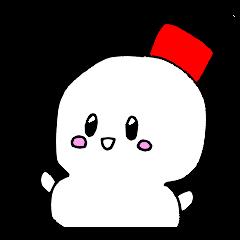 [LINEスタンプ] 雪だるまの気まぐれ (1)