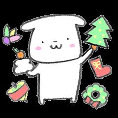 白いイヌすたんぷ ~winter~