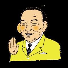 [LINEスタンプ] 気さくなドクターモリ (1)