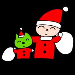 ごことロッコちゃんのクリスマス