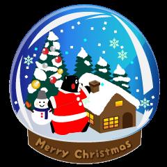 [LINEスタンプ] くまモンのスタンプ(クリスマス) (1)