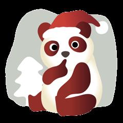 パンダクロースのクリスマス