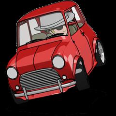 ミニサイズで可愛い車
