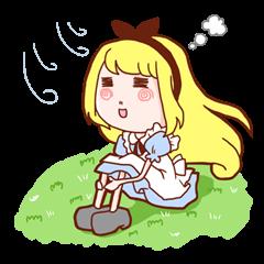 アリスの不思議世界