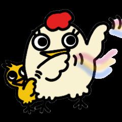 こけぴよ親子(子育て中)