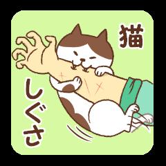 [LINEスタンプ] 猫しぐさ (1)